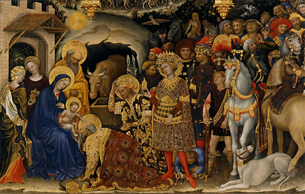 Adoration of the Magi by Gentile da Fabriano