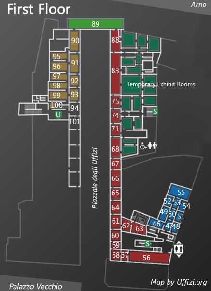 Map 1st Floor