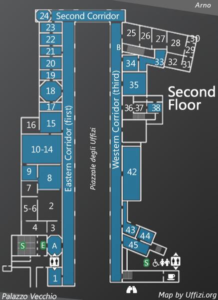 Map 2nd Floor
