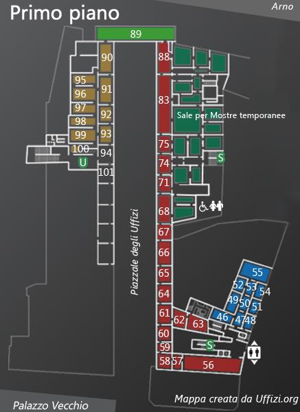 Mappa primo piano