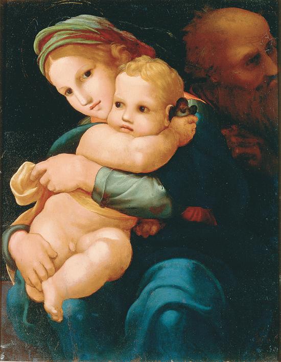 Pedro Machuca - The Holy Family